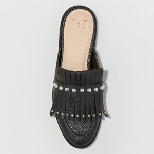 18e73bc24dc a new day Shoes - Karoline Backless Loafer Mules - A New Day Black